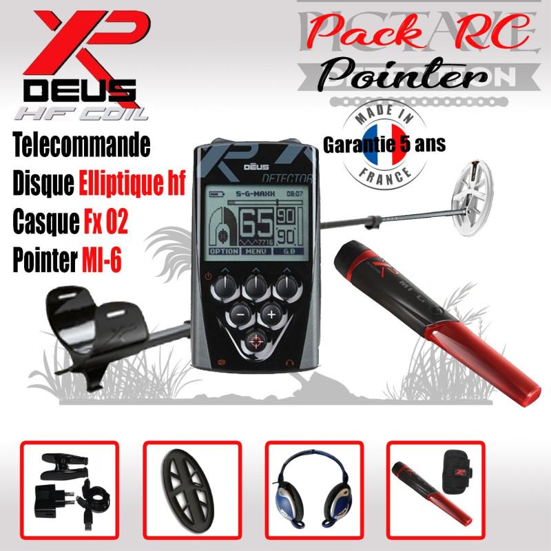 XP DEUS PACK RC POINTER Elliptique HF
