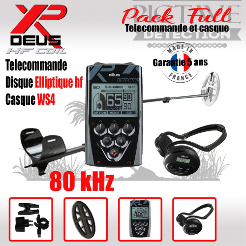 XP DEUS PACK full Elliptique HF WS4