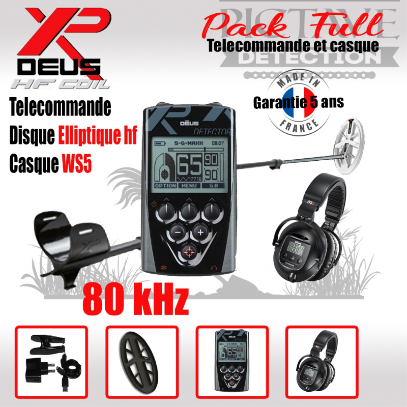 XP DEUS PACK full Elliptique HF WS5