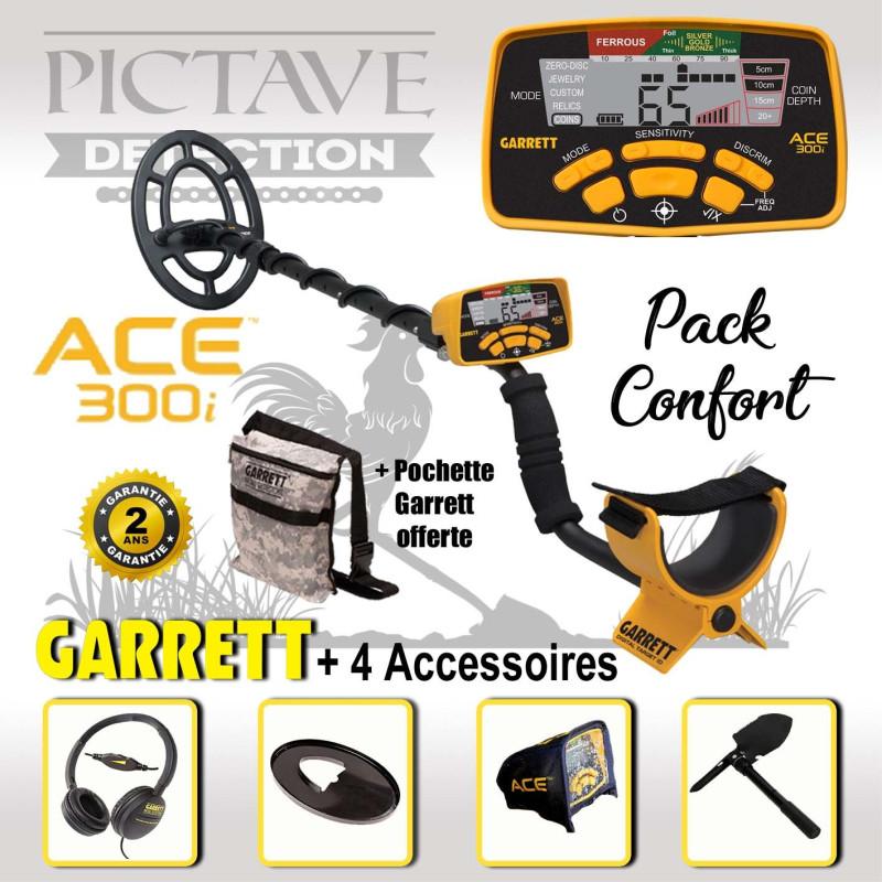 Detecteur GARRETT ACE 300i pack confort