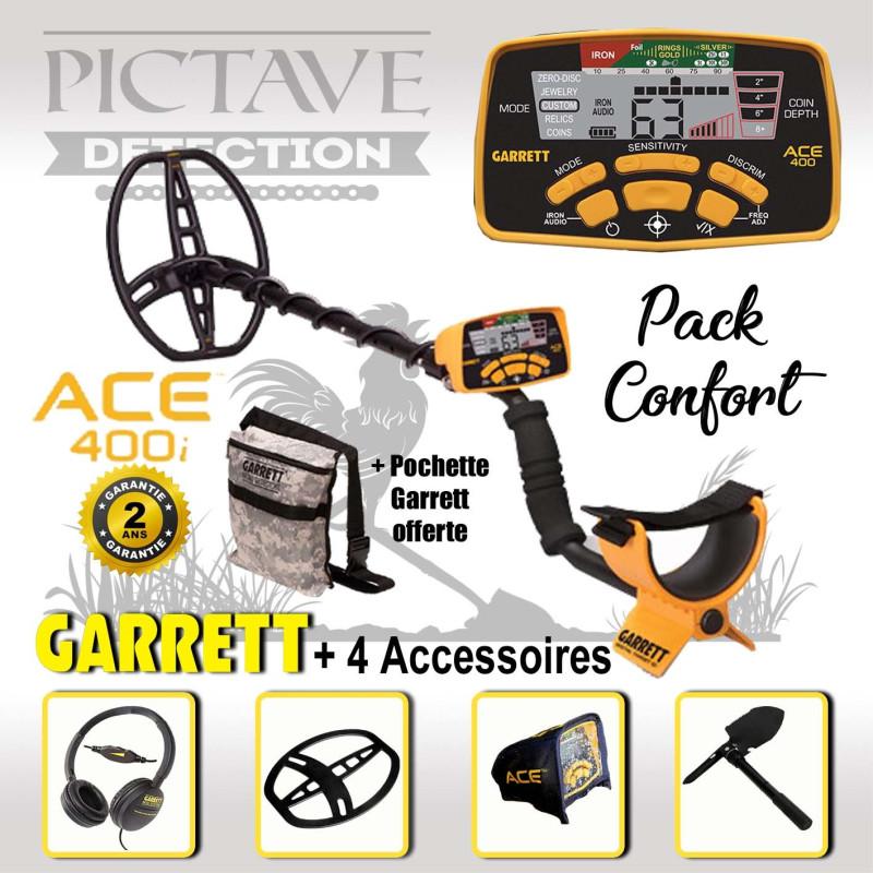 Detecteur GARRETT ACE 400i pack confort