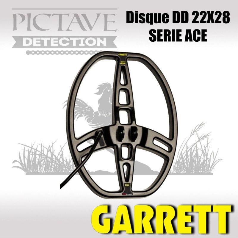 Disque GARRETT 22x28 Double D pour ACE