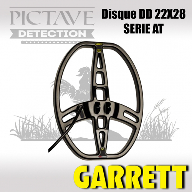 Disque GARRETT 22x28 Double D pour AT PRO