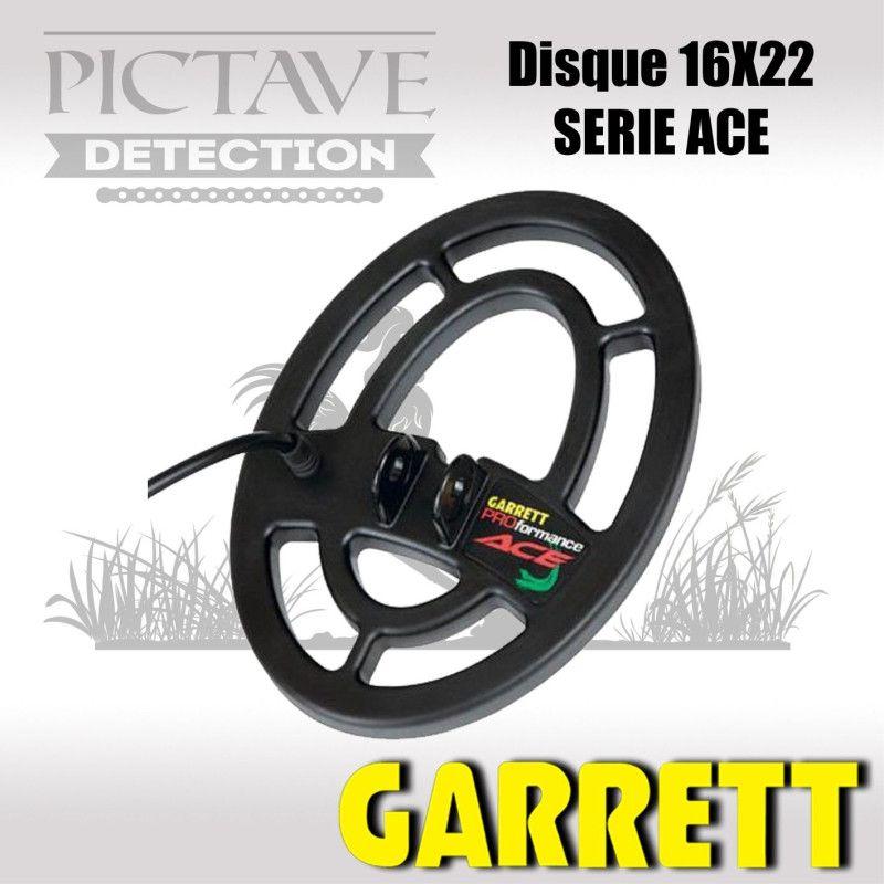 Disque GARRETT 16X22 ACE