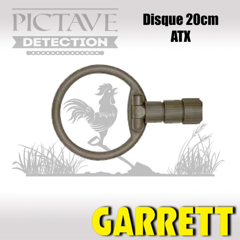 Disque GARRETT 20CM ATX