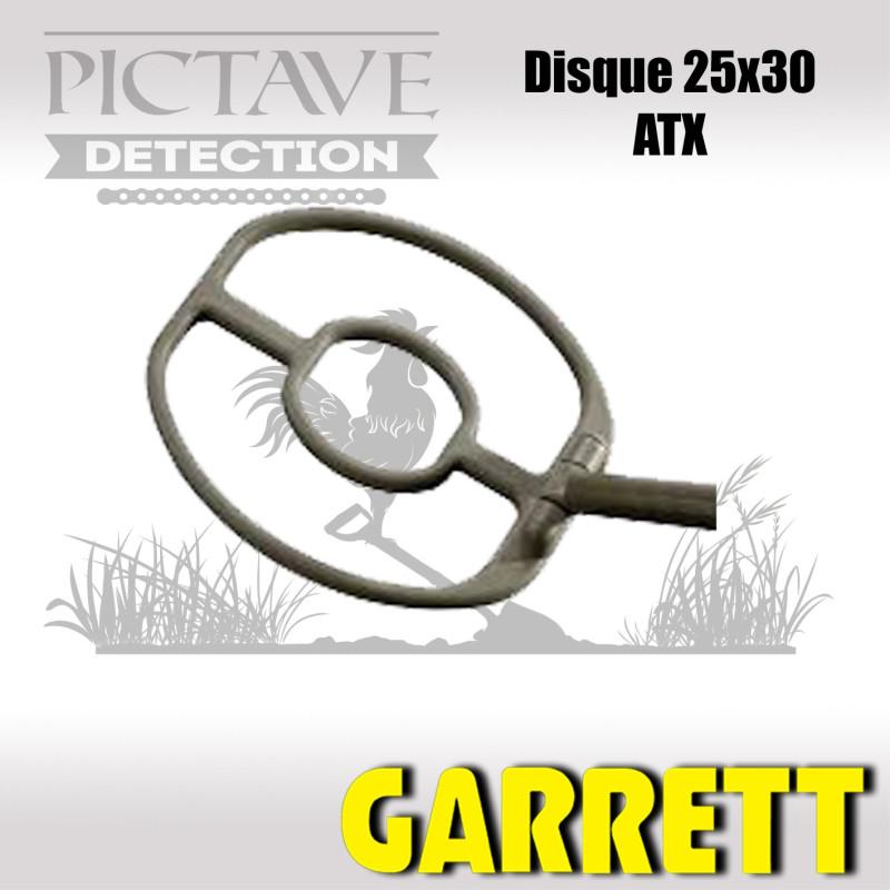Disque GARRETT 25X30CM ATX
