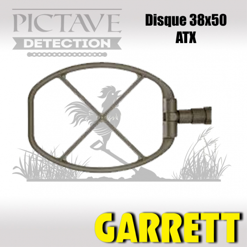 Disque GARRETT 38X50 CM ATX
