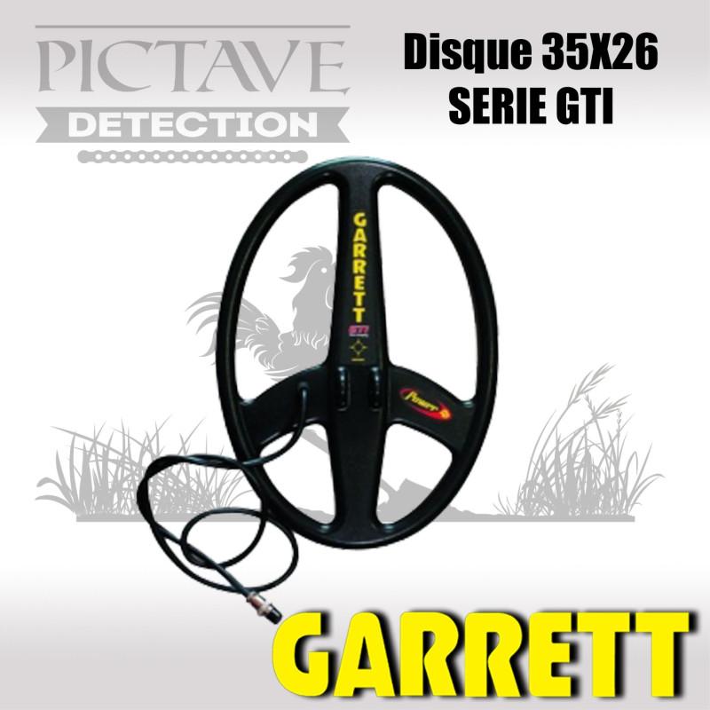 Disque GARRETT 35X26 CM GTI
