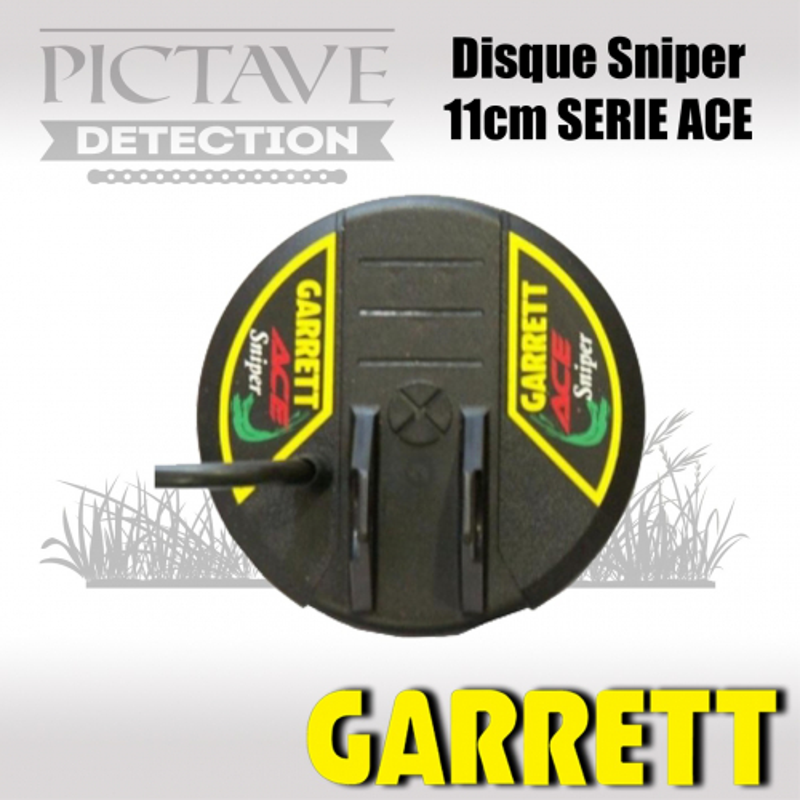 Disque GARRETT SNIPER 11CM ACE