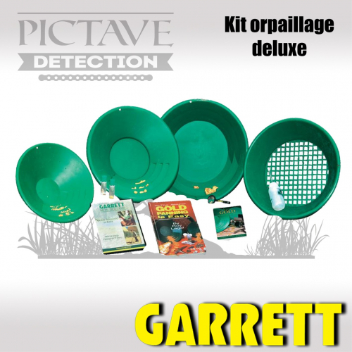 garrett kit orpaillage deluxe