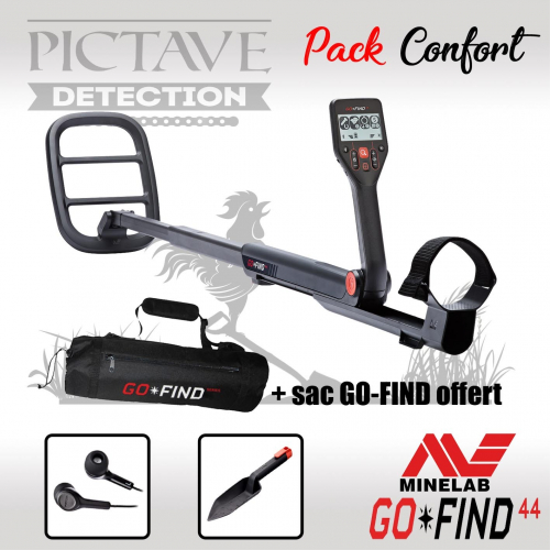 Minelab Go-Find 44 PACK confort