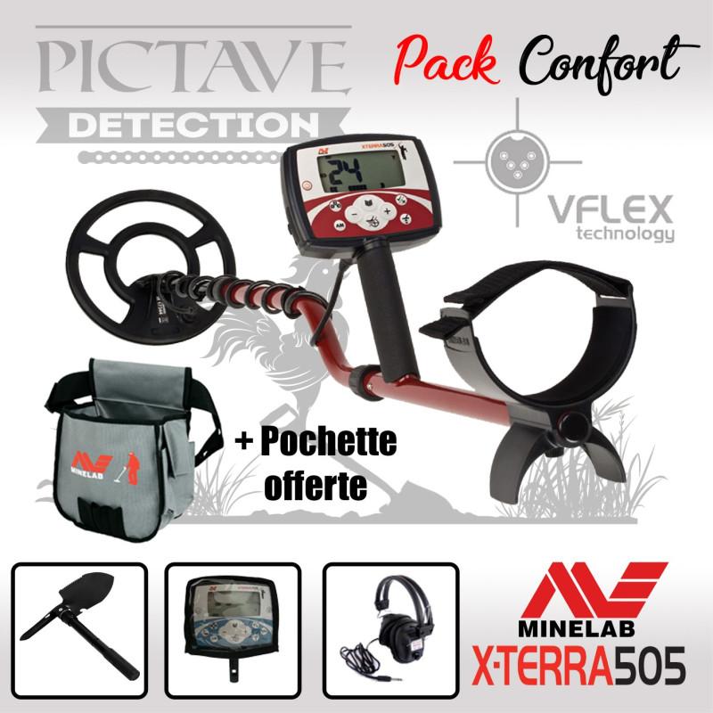 Minelab X-TERRA 505 pack confort