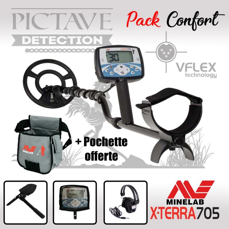 Minelab X-TERRA 705 pack CONFORT