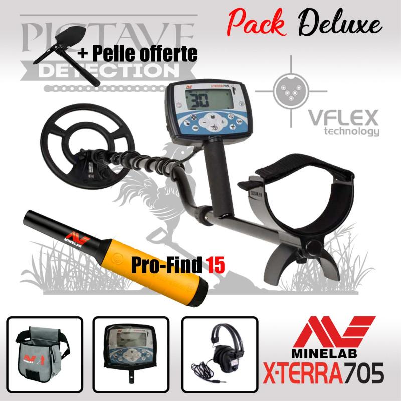 Minelab X-TERRA 705 pack DELUXE