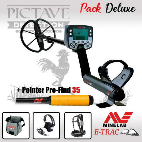 MINELAB E-TRAC pack deluxe