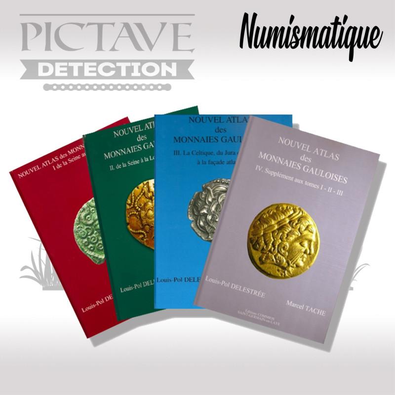 Nouvel Atlas des monnaies Gauloises Complet